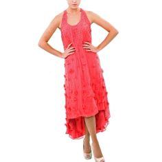 Check out the Badgley Michka Silk Chiffon Petal Trapeze Dress at http://www.elilhaam.com/designers/badgley-mischka/badgley-mischka-10900020.html