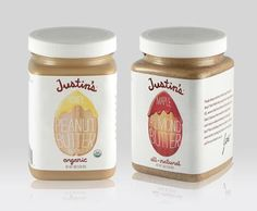 Peanut butter jars square up #labels #packaging | Packaging World