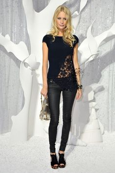 MY FAVE AT CHANEL SHOW SS12 | Stealing Style. half half top