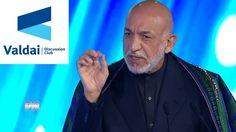 Karzai Speech At Sochi' Valdai Club Meeting