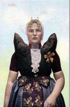 The Netherlands, tradional folk costume