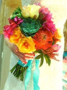 turquoise, coral, succulent green, sunflower gold - Google Search