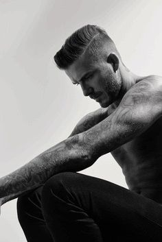 David Beckham // Another Man A W/14 by Collier Schorr - Styled by Alister Mackie²