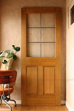 木製ドア(室内ドア) ヴィンテージメイド・インダストリアル・アイアン格子ドア 無加工