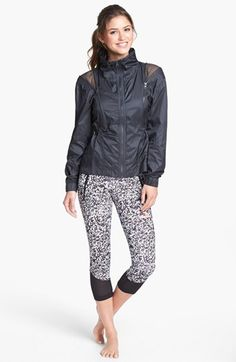 adidas by Stella McCartney 'Run' Jacket & Tights - winter running outfit