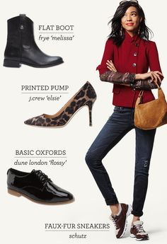 Boost your fall style with our round up of perfect shoes and boots for any occasion!