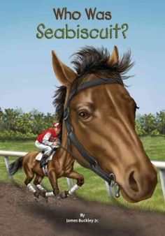 Describes the life and accomplishments of the race horse Seabiscuit, who thrived with a loving jockey and trainer and won the hearts of millions around the country.