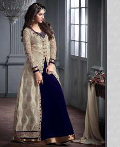 #hey @a1designerwear . Item code: APRL5655 . Buy Magnificent Cream Designer #salwar #kameez #onlineshopping with #worldwideshipping at  https://www.a1designerwear.com/magnificent-cream-designer-salwar-kameez-4   . #a1designerwear #a1designerwear . #instashop #worldwide #thankyou