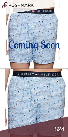 Tommy Hilfiger Woven Boxers NWT Take on your everyday in sleek comfort. Crafted with signature Tommy details and softly woven cotton. They're ideal for your rotation. 🎀🎀 Tommy Hilfiger Underwear & Socks Boxers