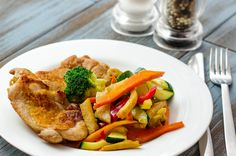 Pulpa dezosata la gratar cu Wok de legume Lunch Box, Chicken, Meat, Food, Essen, Bento Box, Meals, Yemek, Eten
