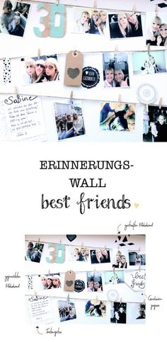 The most beautiful and funniest moments with friends all at a glance … – DIY Geschenke – birthday Diy Gifts For Friends, Diy Gifts For Kids, Christmas Gifts For Friends, Best Friend Gifts, Gifts For Dad, Christmas Diy, Best Friends, Diy Birthday, Birthday Gifts