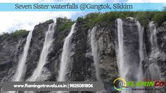 #SikkimTourPackage- Seven Sisters Waterfalls