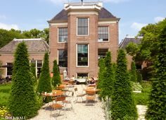 Restaurant Merkelbach in the park. Hotspot Amsterdam