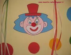 A tanár: karnevál, dekorációk a tantermi