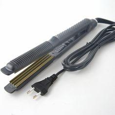 Temperaturregelung Haarglätter Wellblech Haarpflege Styling Werkzeuge Welle Haar Lockenstab 220 V
