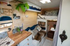 Couple convert old van into dream flat complete with kitchen, toilet and bedroom - Mirror Online