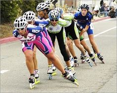 I will skate in a peloton this year.