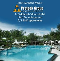 #PrateekGrandCity offers the 2/3 BHK apartments with the tentative sizes: 770, 970, 1155, 1380, 1585 and 1795 sq ft.  For More Details:- http://www.crcadvisor.com/prateek-grand-city-siddharth-vihar.htm