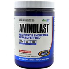 Gaspari AminoLast - my life saver during fasted cardio