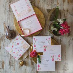 Indian Wedding Invitation Cards, Indian Wedding Cards, Wedding Cards Handmade, Indian Wedding Invitations, Sikh Wedding, Indian Weddings, Wedding Bridesmaids, Wedding Invitation Card Design, Wedding Card Design