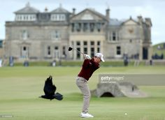Danny Willett of England drives off the 18th tee during the final round of the Alfred Dunhill Links Championship at The Old Course on October 9, 2016 in St Andrews, Scotland.