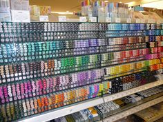I have a feeling that one wall of heaven looks exactly like this. I have never seen a Copic shelf so well stocked!