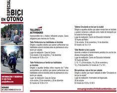 Cursos gratuitos de bici por el Ayuntamiento de Madrid - Octubre, noviembre y diciembre 2014