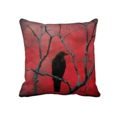 Red Dream Throw Pillow <3