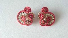 Shibori, Soutache Earrings, Ribbon, Floral, Diy, Jewelry, Ideas, Fashion, Ear Rings