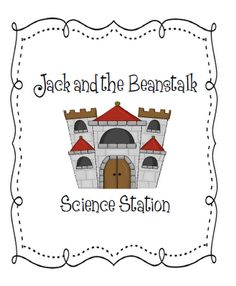 FREE science station - Jack & the Beanstalk