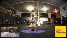 3 + minutes of handstand pushups to Sally Up-Sally Down - #shoulder