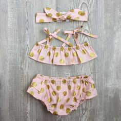 Adorable swimwear for a girl