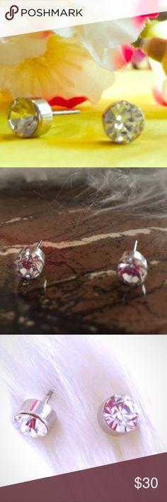 1 2 carat diamond earrings sensitive ears ear jewelry and retail