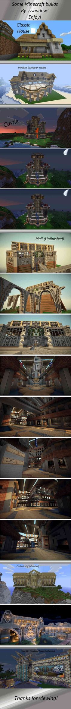 What do you build in #Minecraft? #Geek #HD #art