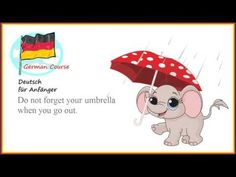 German Course 37 Herbst   Deutsch für Anfänger German Course, Winnie The Pooh, Don't Forget, Disney Characters, Fictional Characters, Snoopy, Youtube, Autumn, Winnie The Pooh Ears