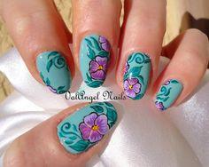 ValAngel Nails Art #nail #nails #nailart