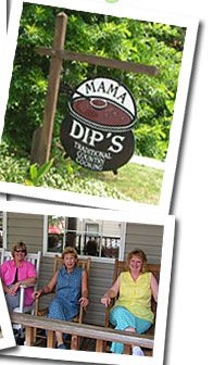 Mama Dip's restaurant is one of the best places in Chapel Hill to eat breakfast and lunch. The trout and eggs with fried green tomato's is my one of my favorite!