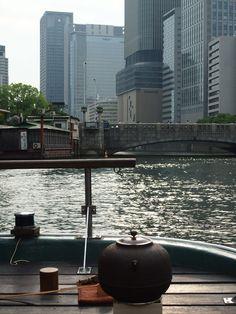 11.9(日)秋の船上茶会やりますの画像:御舟かもめ 船長日記 OSAKA Cozy Cruise Boat