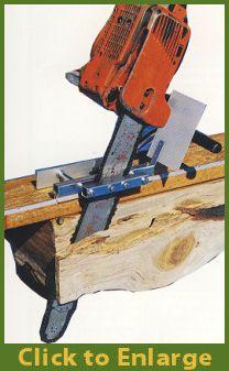 Mini Mill via chain saw, Oh I want this!!!!!!!!