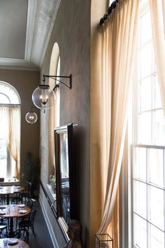 Check out the Globus light fixture from The Urban Electric Co.