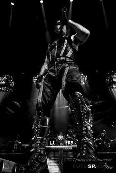 Till Lindemann and those killer boots. ;-)