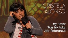 You Ever Lie So Much On A Resume They Gave You The Job? - Cristela Alonzo