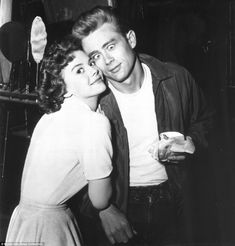 Palling around: Natalie Wood and James Dean in Rebel without a cause (1955)