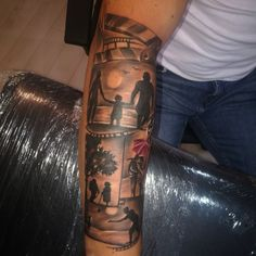 Familia Tattoo sleeve