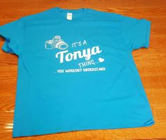 It's a Tonya Thing. You wouldn't understand.