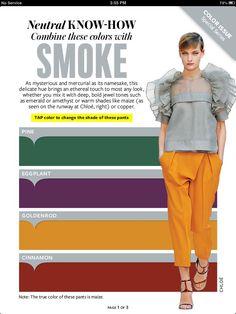 Instyle Magazine - Neutral Know How - SMOKE
