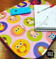 Com a bandeja coruja você terá mais apoio na hora dos estudos. #bandejacoruja #bandejadecolo #decorzziello #presentescriativos
