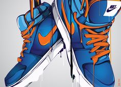 Dripping Nike's