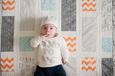 cute baby, but I like the quilt (kristen honeycutt photo co.)
