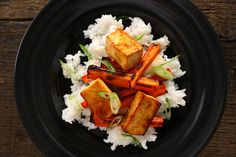 Basic Asian Broiled Tofu - This recipe is shockingly delicious and so simple. If you like tofu give it a shot.